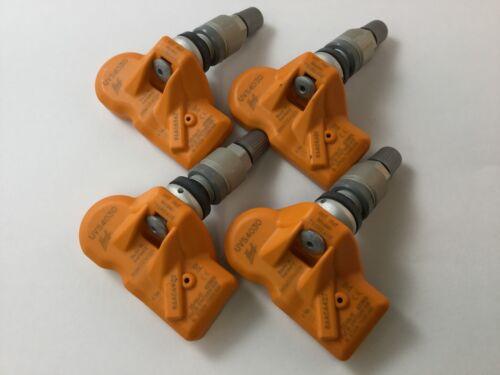 Set 4 Huf TPMS Tire Air Pressure Sensors 315Mhz Metal fit 05-09 Chevy Corvette