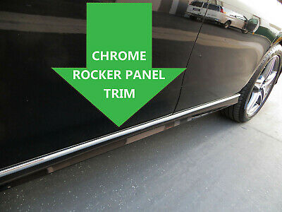 2002-2019 LexusModels Chrome SIDE ROCKER PANEL Trim Molding Kit 2PC