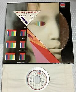 Thomas-Wilbrandt-The-Electric-V-1990-071-217-1-LH-Music-Laserdisc-MINT