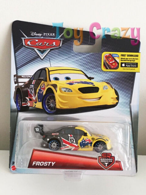 Disney Cars Frosty Carbon Racer Diecast Vehicle