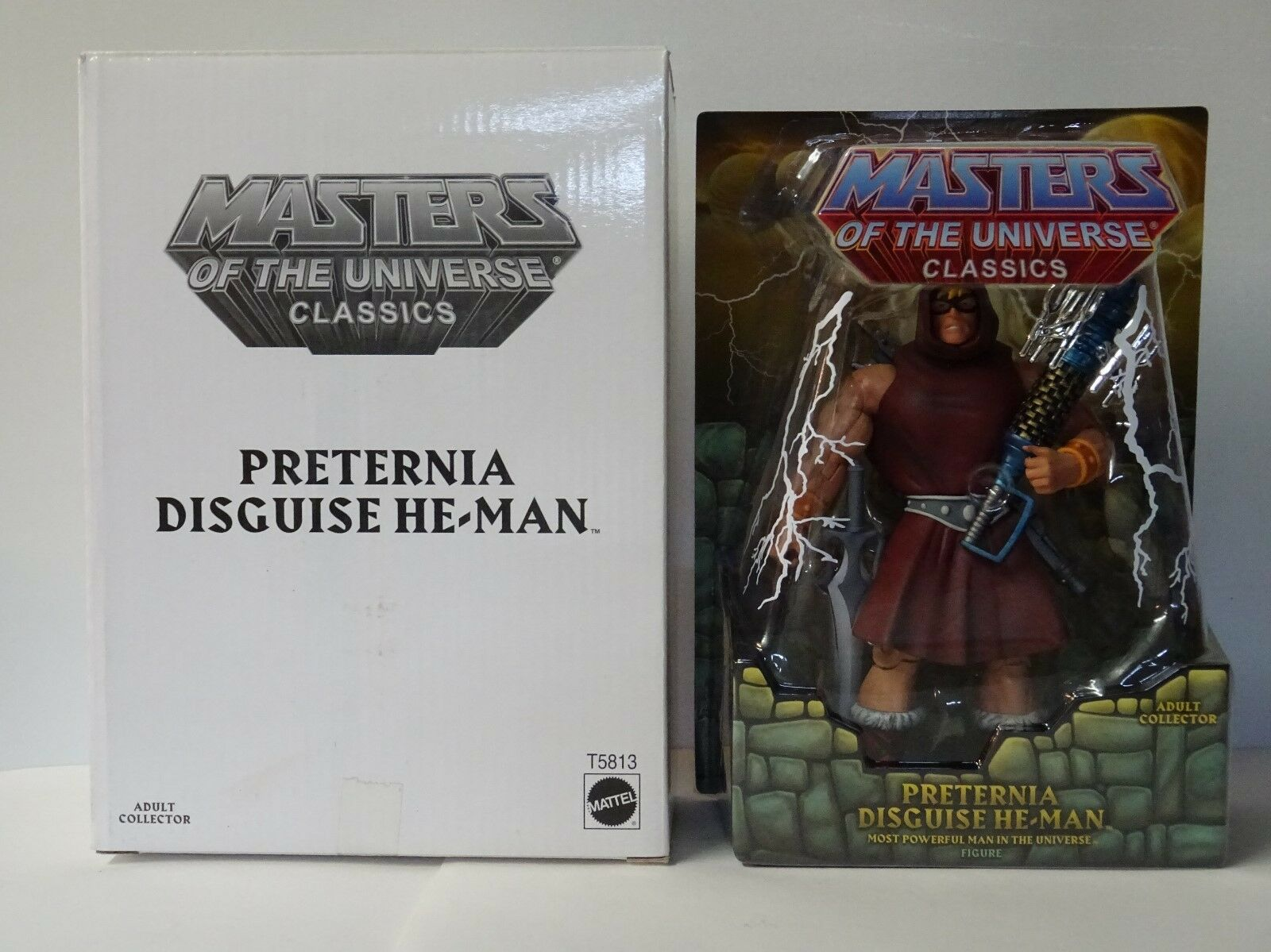 Maitres de l'Univers - MOTU classeics - Preternia Disguise He-uomo He-uomo He-uomo - Mattel 2010 aa548f