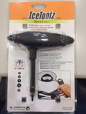 IceToolz E219 Ocarina Torque Wrench Set 3~10N∙m Bike Bicycle Cycling Tool FC