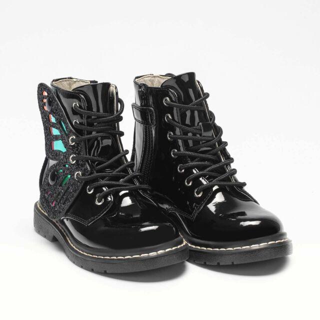 Lelli Kelly Black Patent Shoe Size 26f