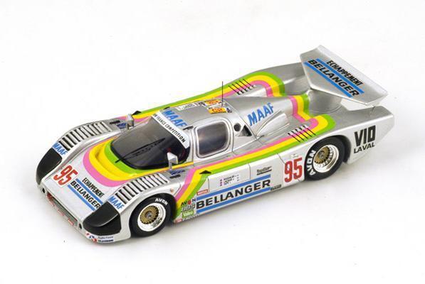 Sauber C6 Bassaler-Lacaud-Tapy  Le Mans 1986 (Spark 1 43   S4081)