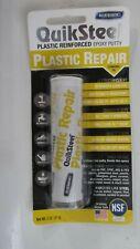 Blue Magic Quiksteel Plastic Repair Epoxy Putty 2 0z 16502tri New