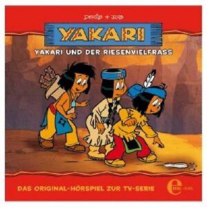 YAKARI-UND-DER-RIESENVIELFRAss-13-HORRSPIEL-ZUR-TV-SERIE-CD-KINDER-NEU