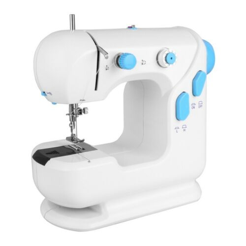Mini Sewing Machine Double Speed Home Sewing Machine Lightweight for Beginners