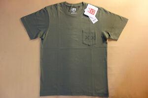153cc265462ca8 Kaws x Uniqlo UT 2016 Short Sleeve Graphic Pocket T-Shirt