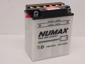 Numax Yb12aa 12n14 3a Mtd Murray Roper Noma Wheelhorse Lawnmower Battery 9661706161689 Ebay