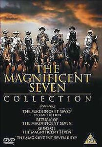 The-Magnificent-Sept-Collection-Film-4-Fims-DVD-Neuf-DVD-21786DVD