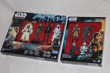 "2 Star Wars Rogue uno Boxsets - 8x 3.75"" figuras Inc vio gerrera/la muerte Trooper"