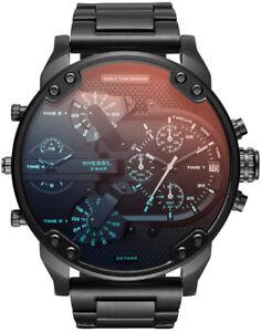 Diesel-DZ7395-Mr-Daddy-2-0-Black-Ion-Plated-Stainless-Steel-Men-039-s-Watch