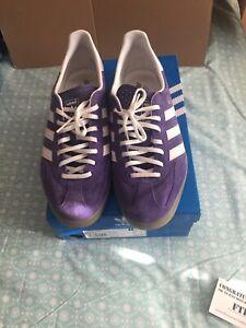 Visible Nueva llegada Interminable  Adidas Gazelle Indoor UK11 Purple Originals Og Deadstock | eBay