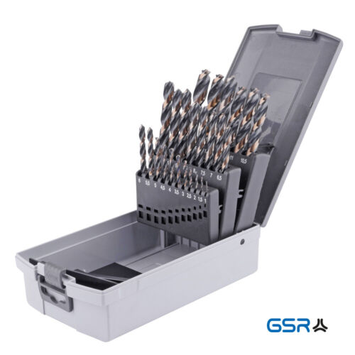 // 25-tlg. mit Querschneide HSS 19-tlg GSR PowerSpike Spiralbohrersortiment
