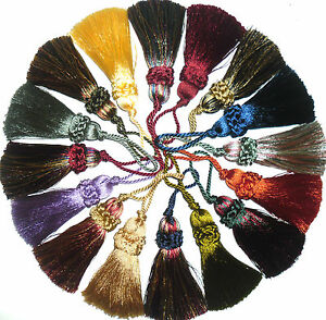SILKY-KEY-TASSELS-ASSORTED-COLS-X4-CUSHIONS-BLINDS-CURTAINS-ART-11827-9