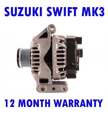 Suzuki swift mk3 mk III 1.3 2005 2006 2007 2008-2015 hatchback alternator