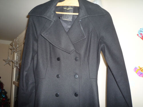 Neuf Noir Orchestra Femme 36 Copine Cop Taille Manteau 0OWHdqxO