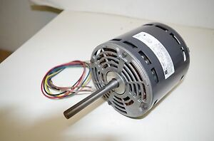 EMERSON 1/2HP AC MOTOR # K55HXFWC-7953 208-240VAC 50/60HZ. 1075RPM 3 SPEED