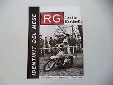 advertising Pubblicità 1977 RG e MOTO KTM e CLAUDIO MARTINELLI