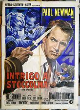 manifesto 2F film THE PRIZE Paul Newman Elke Sommer Edward G. Robinson 2a ediz.
