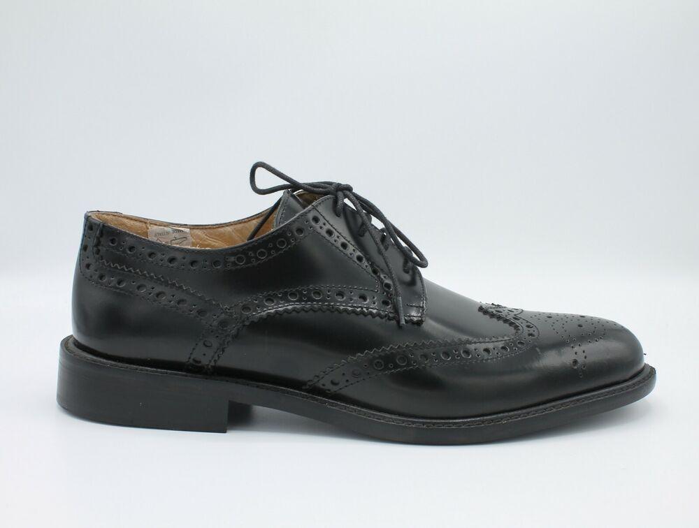 Agressif Chaussures Pour Hommes Élégant En Cuir Noir Derby Cérémonie Oxford 40 Casual Bas Prix