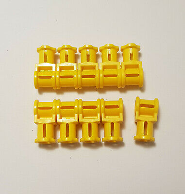 LEGO 30 x Achsverbinder gelb Yellow Technic Axle Connector with Axle Hole 32039