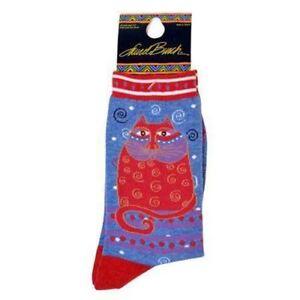 K Bell Laurel Burch Socks Dancing Mermaids Crew 9-11 Shoe size 5-10