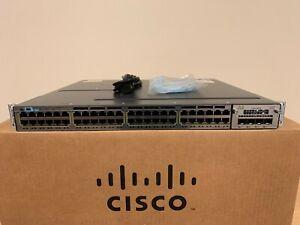 Cisco-WS-C3750X-48T-S-48-Port-Gigabit-Switch-15-2-w-350WAC-Power-and-C3KX-NM-1G