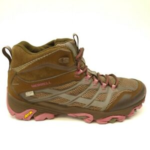 Merrell Moab damesschoenen Hiking Support 9 Brown Fst Eu 40 Wp Us Athletic Mid SMVLUzqGp