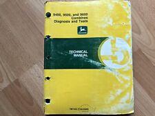 John Deere 9400 9500 9600 Combine Factory Technical Diagnosis Test Manual Tm1402