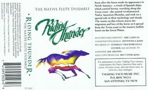 Riding-Thunder-cassette-album-very-good-Canada-native-american