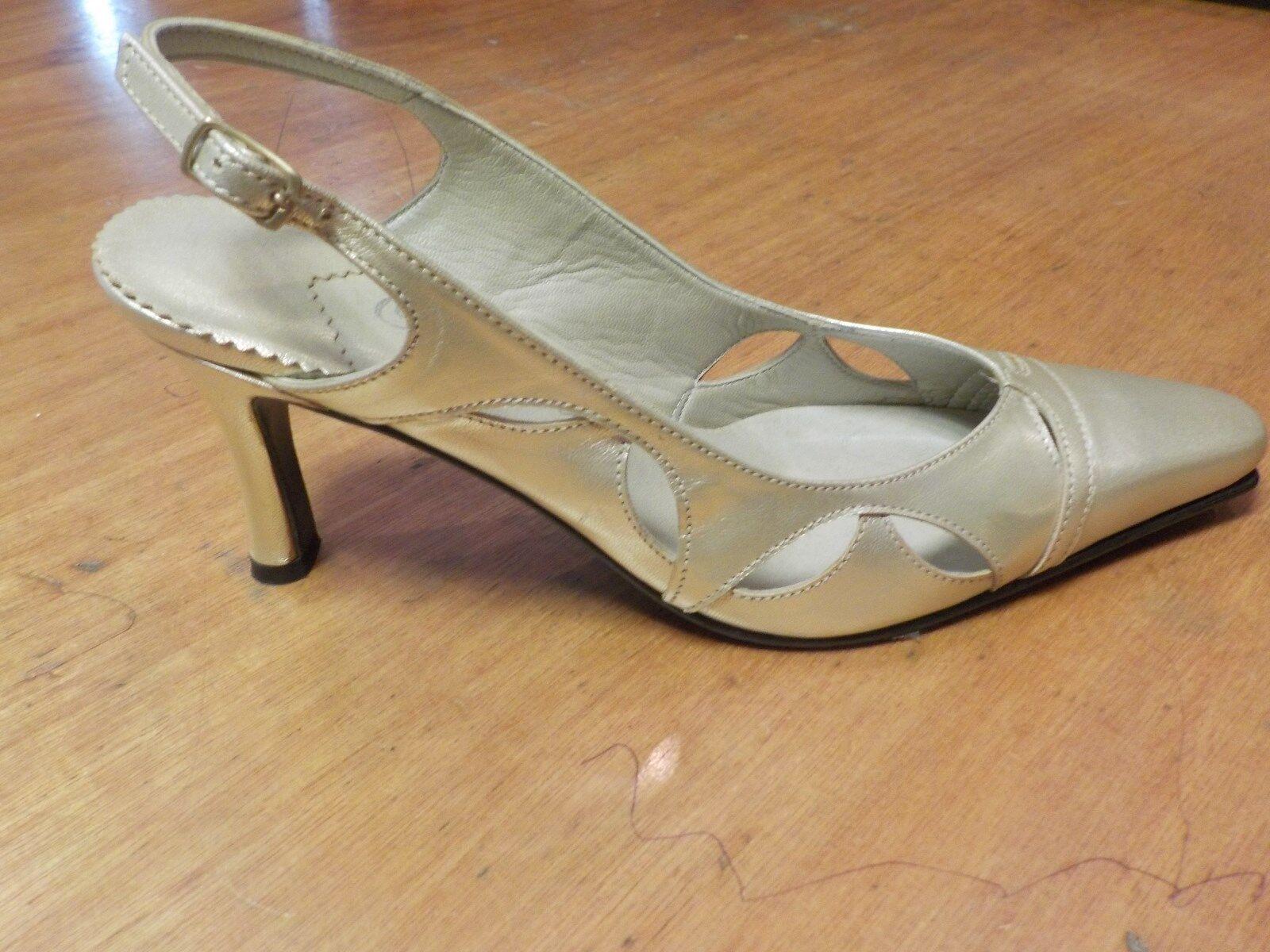 Orlando Octavia Ivory Court shoes Size 5