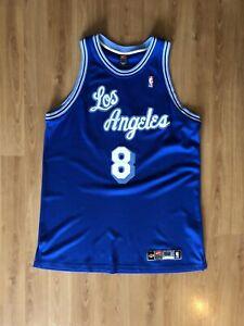 Detalles acerca de Authentic Vintage Nike Los Angeles Lakers Kobe Bryant HWC Jersey 52 XL XXL Blue
