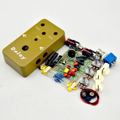 delay diy pedal kits diy guitar pedals kit with 1590b and pt2399 free shipping 702756452934 ebay. Black Bedroom Furniture Sets. Home Design Ideas
