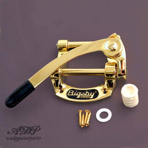 SG. Gold Bigsby Licensed B50 Vibrato Tailpiece  B5 Fer à Cheval TELE