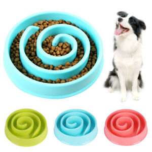 Pet-Bowl-Dog-Cat-Interactive-Slow-Food-Feeder-Healthy-Gulp-Feed-Dish-Ace