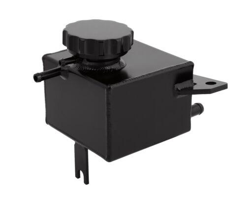 Aluminum Coolant Overflow Tank Reservoir Expansion for Subaru Impreza WRX Black