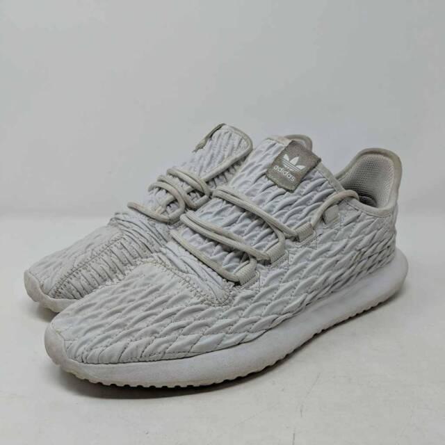 Size 9 - adidas Tubular Shadow White