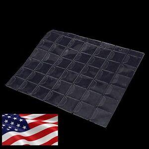 US-1x-42-Pockets-Coin-Sheet-Holders-Storage-Collection-Money-Album-Case-Folder