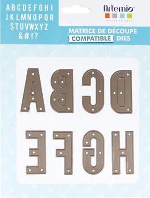 First Edition BIG SHOT SISSI SIZZIX DIY DIES// MATRICES DE DÉCOUPE X26 ALPHABET