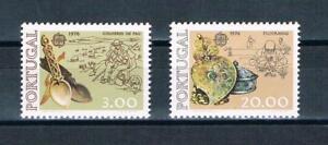 Portugal-Mi-nr-1311-1312-Europa-CEPT-1976-postfrisch