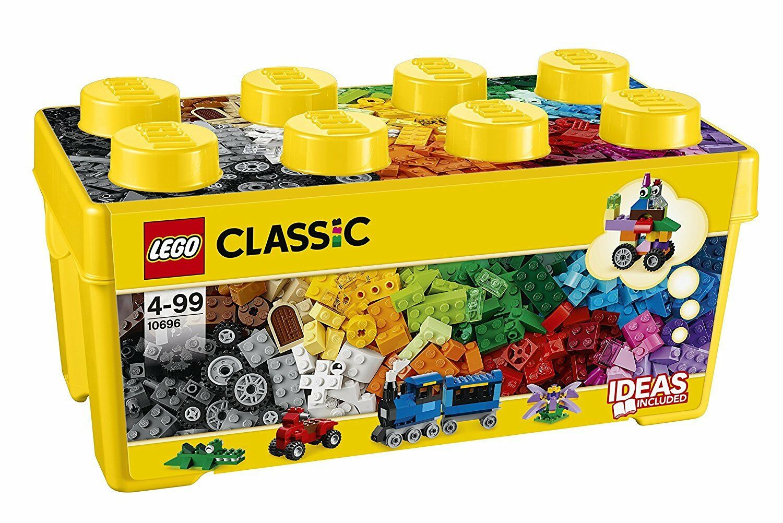 Lego Classic Caja Creativa 35 Colors Tamaño Mediano Juego Niño Niña Creativo