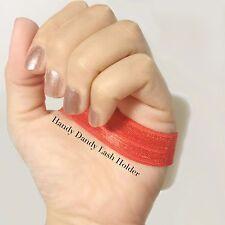 2 pk- Hand Lash Holder Eyelash Extensions Pod Strap Wrap Tile Bracelet Palate
