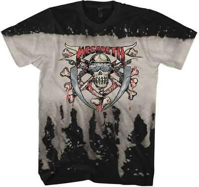 2XL Black T-Shirt XL L Megadeth Photo S M