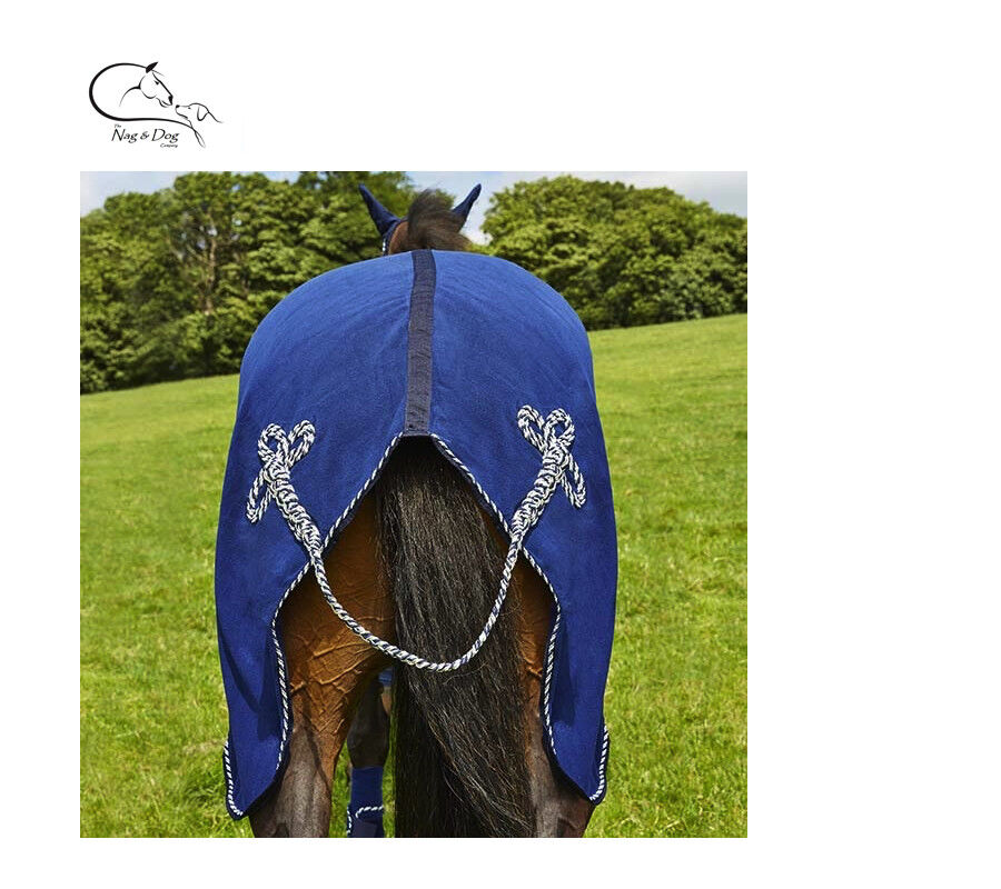 Deluxe HORSE PONY SHOW TRAVEL FLEECE RUG 5'-7'0