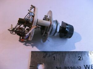 Rotary-Selector-Switch-1-Pole-5-Position-Non-Short-Ceramic-CRL-Used-Pull-Qty-1