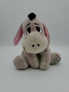 Walt-Disney-World-Disney-039-s-Baby-Eeyore-Bean-Bag-Plush-9-034-Mauve
