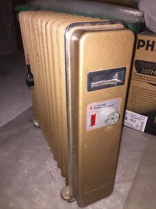 Radiatore a olio SCS, portatile - vintage