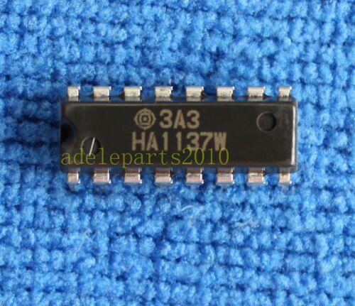 2pcs HA1137W HITACHI IC Chip DIP-16