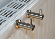 2 Stk. Edelstahl Handtuchhalter  Magnet Halter für Heizkörper Whiteboard Haken